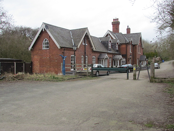 The Railway Station, now private houses
