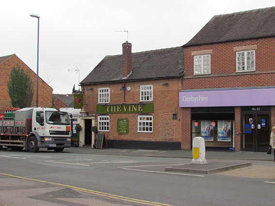 The Vine and Derbyshire Building Society