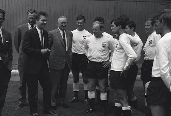 New Rams manager Brian Clough is introduced to the players